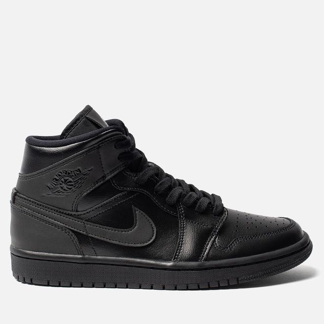 Женские кроссовки Jordan Air Jordan 1 Mid Black