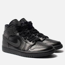 Женские кроссовки Jordan Air Jordan 1 Mid Black фото- 0