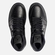 Женские кроссовки Jordan Air Jordan 1 Mid Black фото- 1