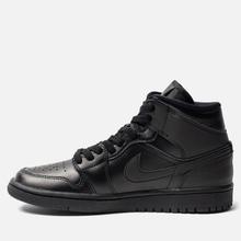 Женские кроссовки Jordan Air Jordan 1 Mid Black фото- 5