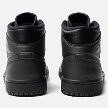 Женские кроссовки Jordan Air Jordan 1 Mid Black фото- 2