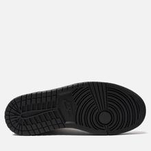 Женские кроссовки Jordan Air Jordan 1 Mid Black/Black фото- 4