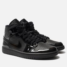 Женские кроссовки Jordan Air Jordan 1 Mid Black/Black фото- 0