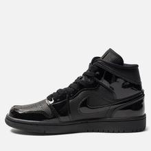 Женские кроссовки Jordan Air Jordan 1 Mid Black/Black фото- 5