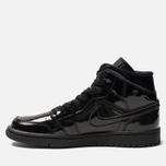 Женские кроссовки Jordan Air Jordan 1 Mid Black/Black/Black фото- 1