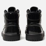 Женские кроссовки Jordan Air Jordan 1 Mid Black/Black/Black фото- 3