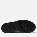 Женские кроссовки Jordan Air Jordan 1 Mid Black/Black/Black фото- 4