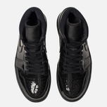 Женские кроссовки Jordan Air Jordan 1 Mid Black/Black/Black фото- 5