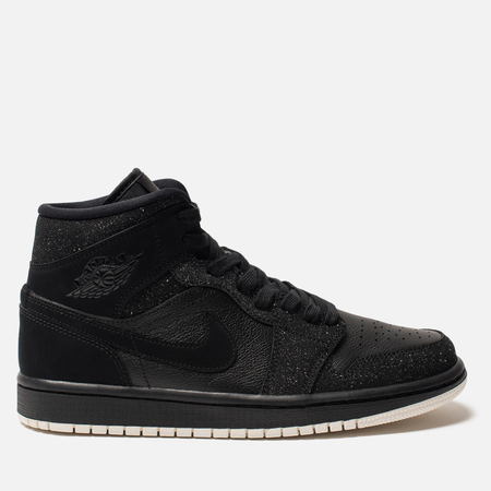 Женские кроссовки Jordan Air Jordan 1 Mid Black/Phantom/White