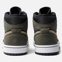 Женские кроссовки Jordan Air Jordan 1 Mid Black/Trooper/Sequoia фото- 3