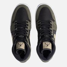 Женские кроссовки Jordan Air Jordan 1 Mid Black/Trooper/Sequoia фото- 5