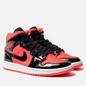 Женские кроссовки Jordan Air Jordan 1 Mid Bright Crimson/Black фото - 0
