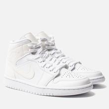 Женские кроссовки Jordan Air Jordan 1 Mid White фото- 0