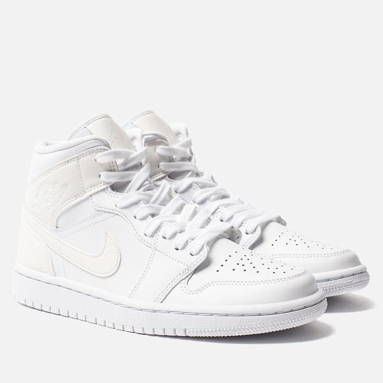 Женские кроссовки Jordan Air Jordan 1 Mid White