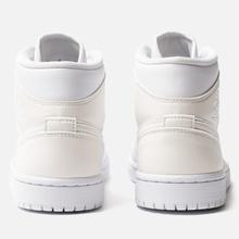 Женские кроссовки Jordan Air Jordan 1 Mid White фото- 2