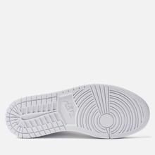 Женские кроссовки Jordan Air Jordan 1 Mid White/White фото- 4