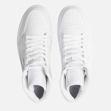 Женские кроссовки Jordan Air Jordan 1 Mid White/White фото- 1