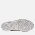 Женские кроссовки Jordan Air Jordan 1 Mid White/White/White фото- 4