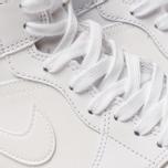 Женские кроссовки Jordan Air Jordan 1 Mid White/White/White фото- 6