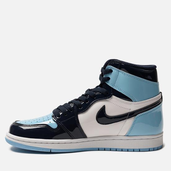 Женские кроссовки Jordan Air Jordan 1 Retro High OG Obsidian/Blue Chill/White