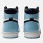 Женские кроссовки Jordan Air Jordan 1 Retro High OG Obsidian/Blue Chill/White фото - 1
