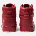 Женские кроссовки Jordan Air Jordan 1 Retro High Premium Gym Red/Metallic Gold/Vachetta Tan фото- 3