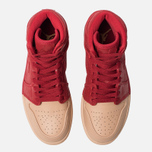 Женские кроссовки Jordan Air Jordan 1 Retro High Premium Gym Red/Metallic Gold/Vachetta Tan фото- 5