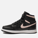 Женские кроссовки Jordan Air Jordan 1 Retro Premium Black/Silt Red/Rush Maroon/White фото- 1