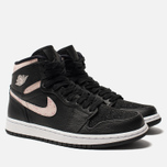 Женские кроссовки Jordan Air Jordan 1 Retro Premium Black/Silt Red/Rush Maroon/White фото- 2