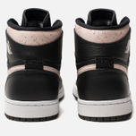 Женские кроссовки Jordan Air Jordan 1 Retro Premium Black/Silt Red/Rush Maroon/White фото- 3