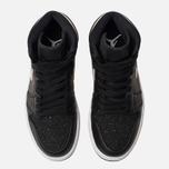 Женские кроссовки Jordan Air Jordan 1 Retro Premium Black/Silt Red/Rush Maroon/White фото- 5