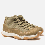 Женские кроссовки Jordan Air Jordan 11 Retro Neutral Olive/Metallic Stout/Sail фото- 2