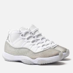 Женские кроссовки Jordan Air Jordan 11 Retro White/Metallic Silver/Vast Grey