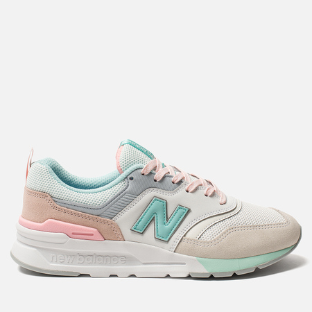 Женские кроссовки New Balance CW997HBA White/Beige/Pink
