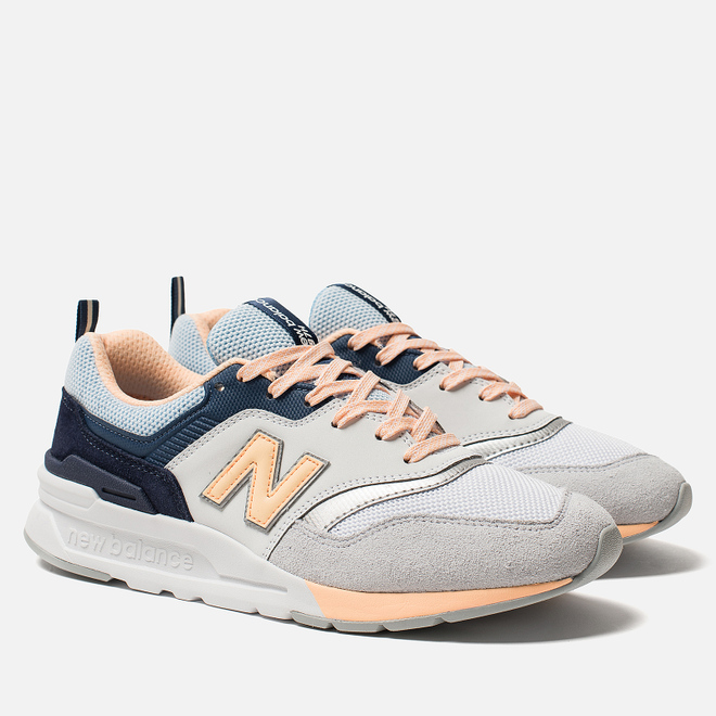 Женские кроссовки New Balance CW997HBB Grey/Light Orange