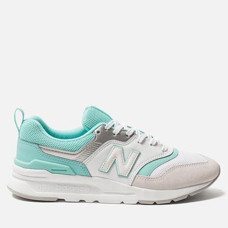 Женские кроссовки New Balance CW997HEC White/Mint