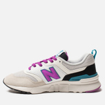 Женские кроссовки New Balance CW997HNA White/Purple/Grey фото- 2