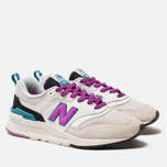 Женские кроссовки New Balance CW997HNA White/Purple/Grey фото- 1
