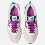 Женские кроссовки New Balance CW997HNA White/Purple/Grey фото- 5