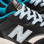 Женские кроссовки New Balance CW997HNB Black/Blue/White фото- 6