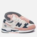 Женские кроссовки New Balance W530SC White/Pink фото- 1