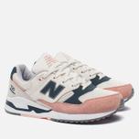 Женские кроссовки New Balance W530SC White/Pink фото- 2