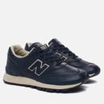 Женские кроссовки New Balance W576CNN Navy/White фото- 2
