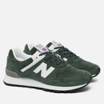 Женские кроссовки New Balance W576PNW Green/White/Black фото- 1