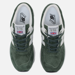 Женские кроссовки New Balance W576PNW Green/White/Black фото- 5