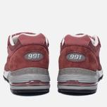 Женские кроссовки New Balance W991DR Dark Rose фото- 3