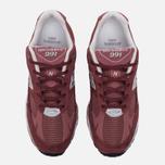 Женские кроссовки New Balance W991DR Dark Rose фото- 4