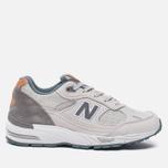 Женские кроссовки New Balance W991NBG Light Grey фото- 0