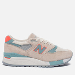 Женские кроссовки New Balance W998CHS Sea Salt/Storm Blue фото- 0