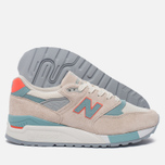 Женские кроссовки New Balance W998CHS Sea Salt/Storm Blue фото- 1